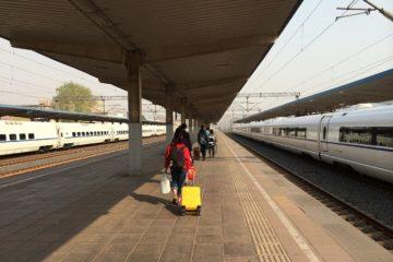 valise automatique en train